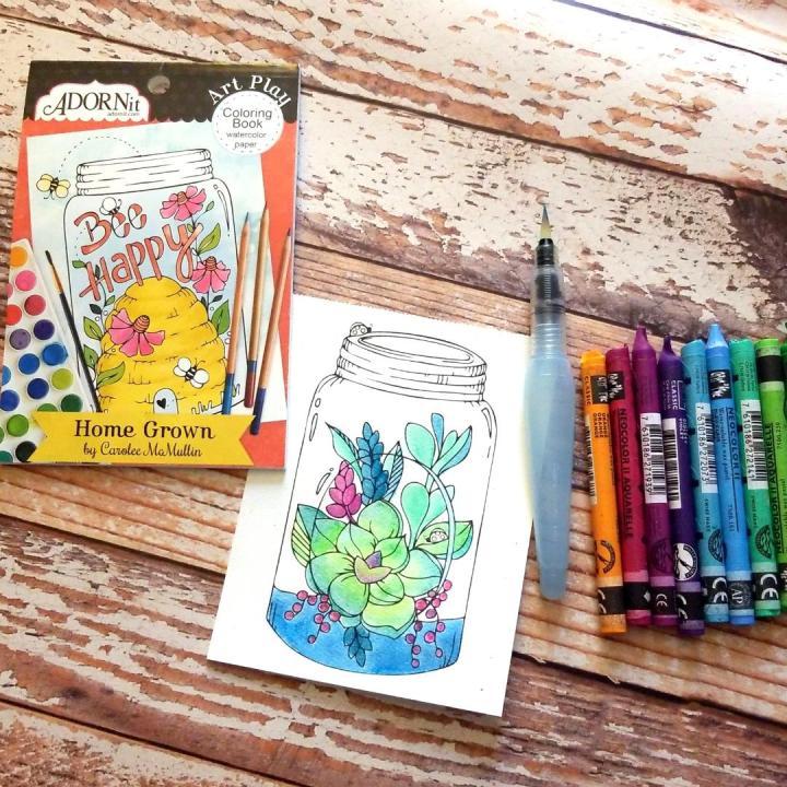 AdornIt Coloring Books