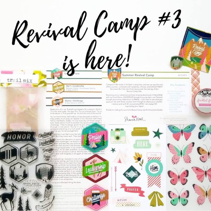 Illustrated Faith Revival Camp Kit #3