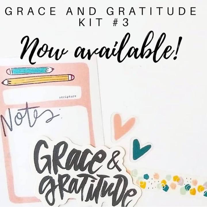 Grace & Gratitude Kit#3
